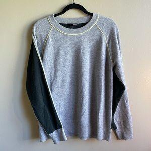 Aqua Cashmere Women's Colorblock Sweater M